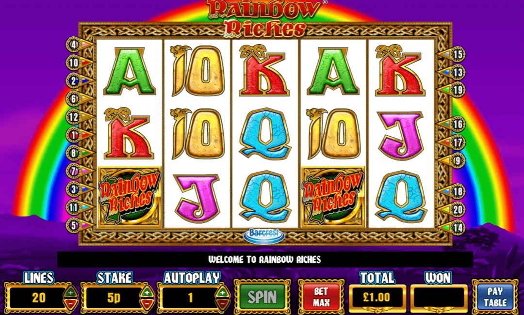 slot games rainbow riches