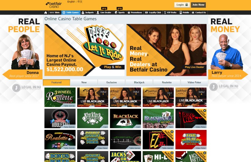 Betfair Nj Casino Promo Code No Deposit Bonus Review