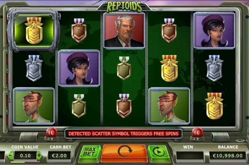 reptoids casino