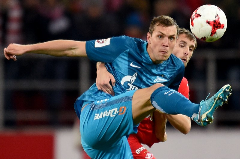 c317acf9c Russian Premier League Zenit St Petersburg v Spartak Moscow  Dzyuba to fire  in top of the table clash