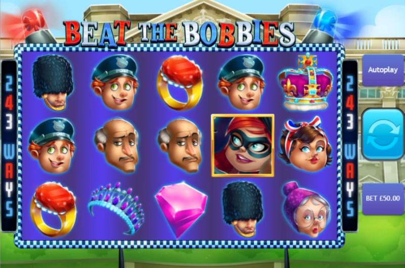 On Beat the Bobbies: At the Tower Of London Slot, the ways to win triggers when at least 3 or more Penny symbols activate the free games rounds, this will increase your winnings and can be multiplied by 10 times.Yomra