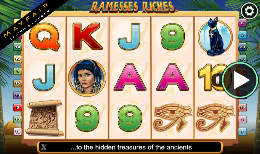 Discover Ramesses Riches Slots With No Download