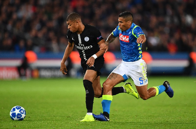 Image result for napoli vs PSG champions league