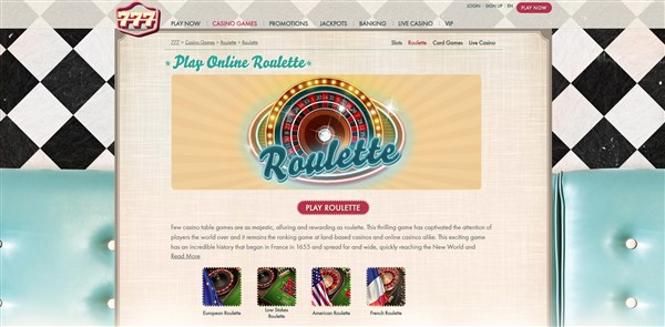 777 Casino Roulette Review