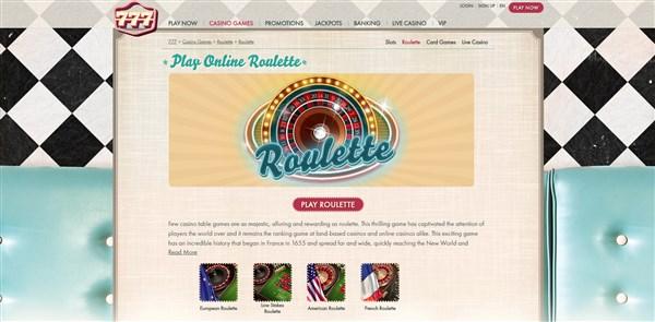 777 Casino Roulette Review Free Spins Bonus