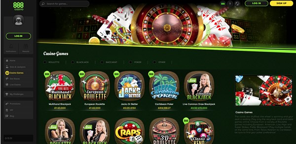 888Casino Roulette Review