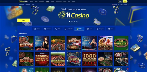 William Hill Casino Roulette Review