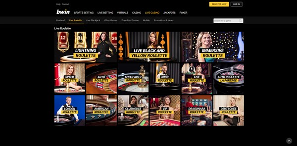 bwin casino roulette review