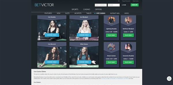 Betvictor Casino Roulette Review