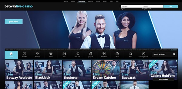 Betway Casino Roulette Review