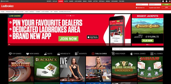 Ladbrokes Casino Roulette Review