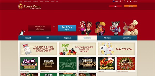 Royal Vegas Casino Roulette Review
