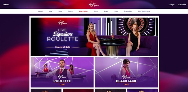 virgin games roulette review
