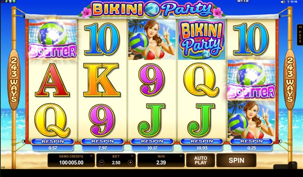 Bikini Party Slots Tournament