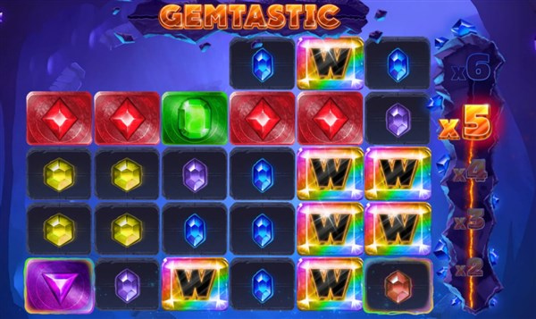 Gemtastic Slots Wild Feature