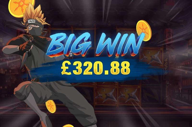 Ninja Ways Slots Big Win