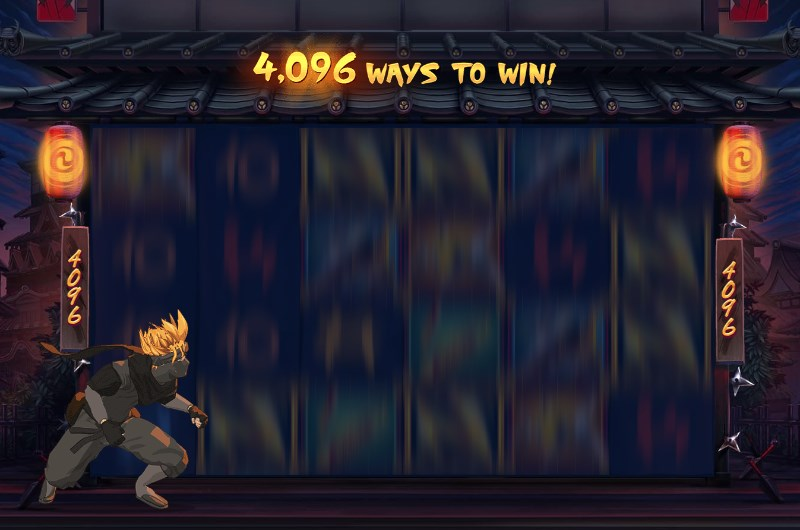 Ninja Ways Slots Bonus Feature