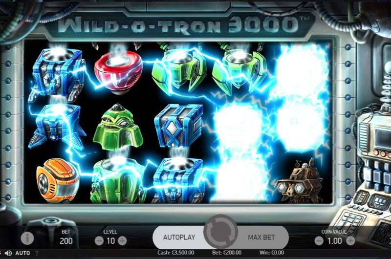 Wild-O-Tron 3000 Slots Bonus Feature