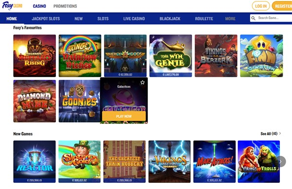 Foxy Casino Review Welcome Bonus Promo Code Free Spins