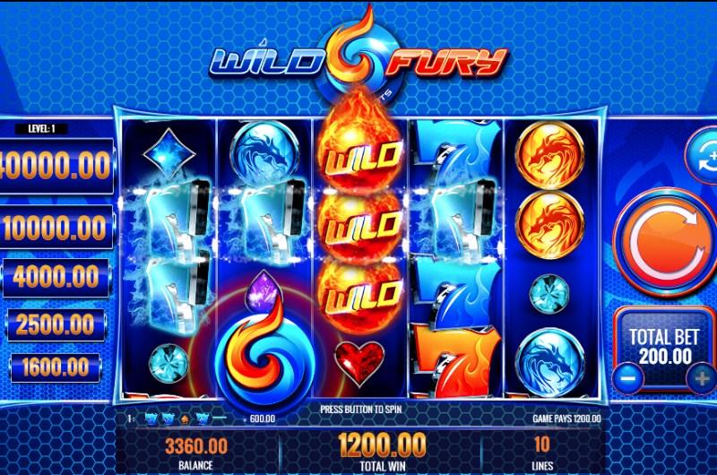 Wild Fury Jackpots Slots Win