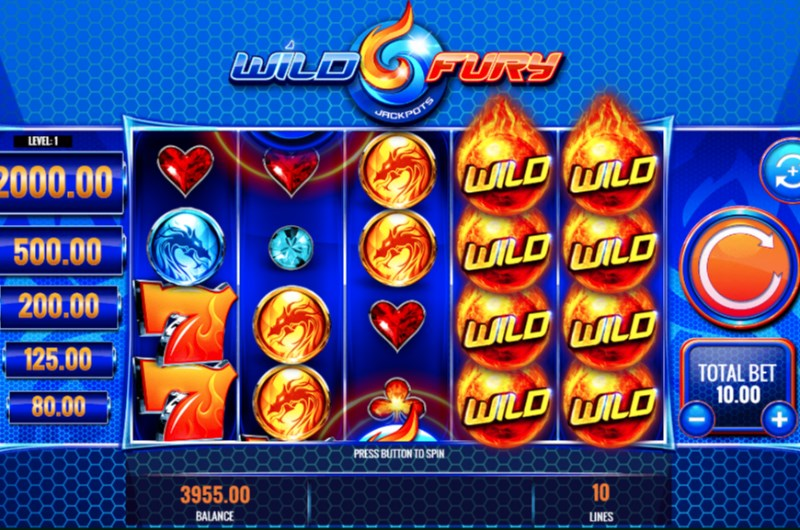 Wild Fury Slots Stacked Wilds