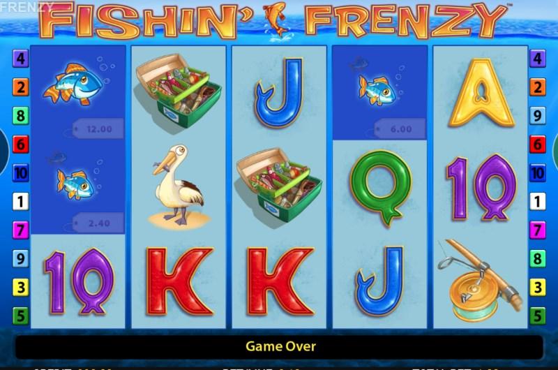 Fishin Frenzy Slots Game