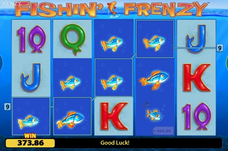 Fishin' Frenzy Slots Win