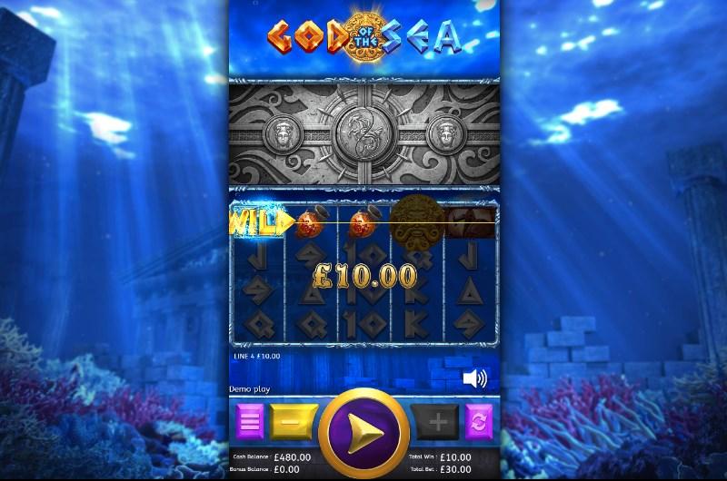 God of the Sea Slots Win