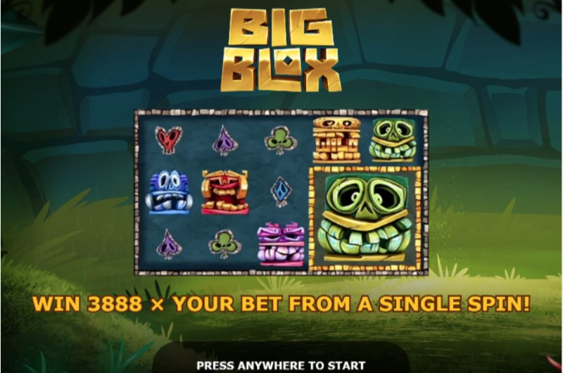 Big Blox Slots Intro