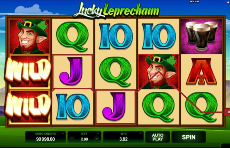 Lucky Leprechaun Slots Wild