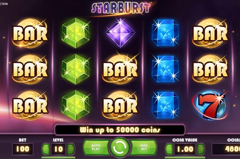 Starburst Slots Game