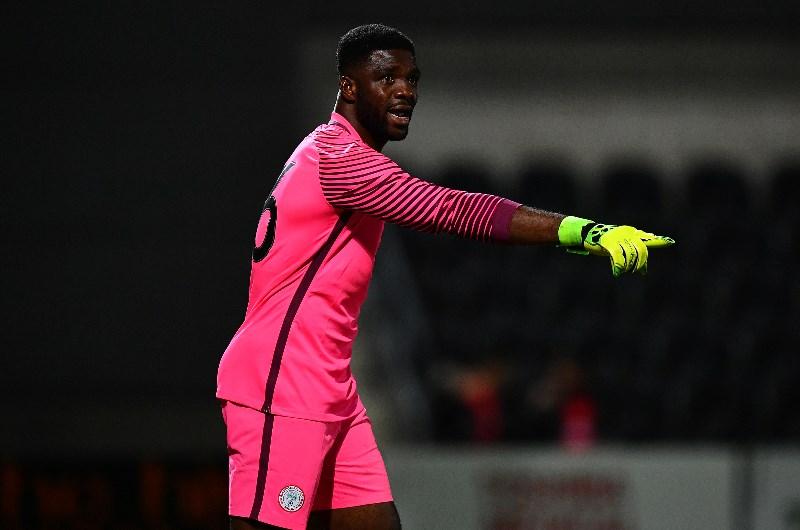 Nigerian Kaizer Chiefs goalkeeper Daniel Akpeyi