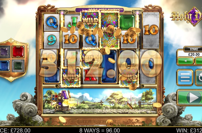 Holy Diver Slot Win