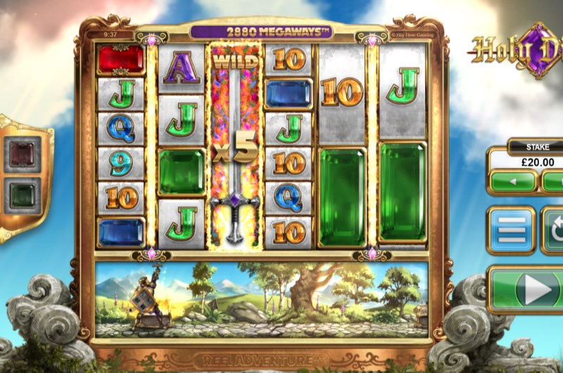 Holy Diver Slots Wild Feature