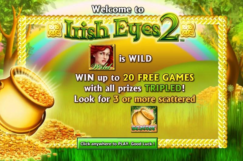 Irish Eyes 2 Slots Free Spins
