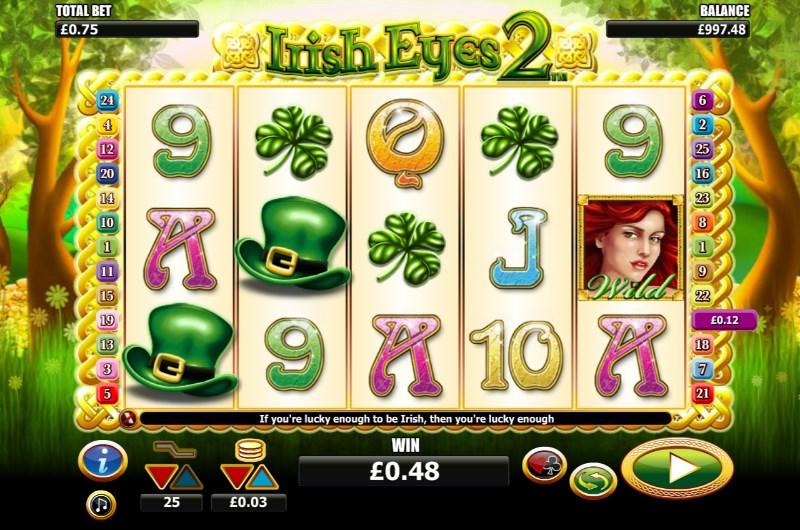 Irish Eyes 2 Slots Game