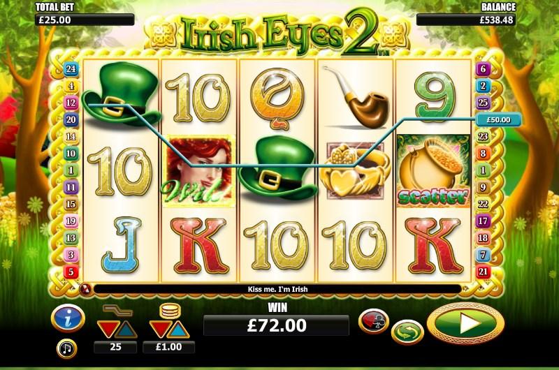 Irish Eyes 2 Slots Win