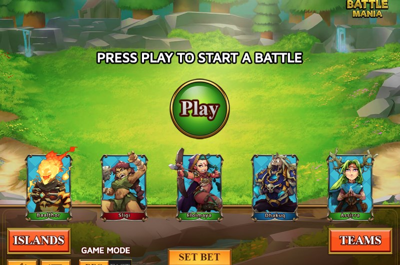 Battle Mania Slots Game
