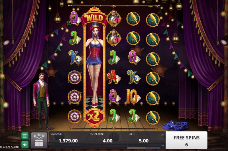 Great Albini Slots Free Spins