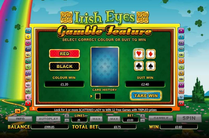 Irish Eyes Slots Bonus