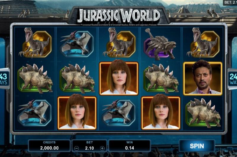 Jurassic World Slots Win