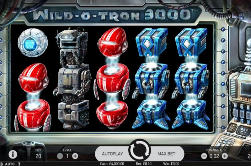 Wild-O-Tron 3000 Slots Game