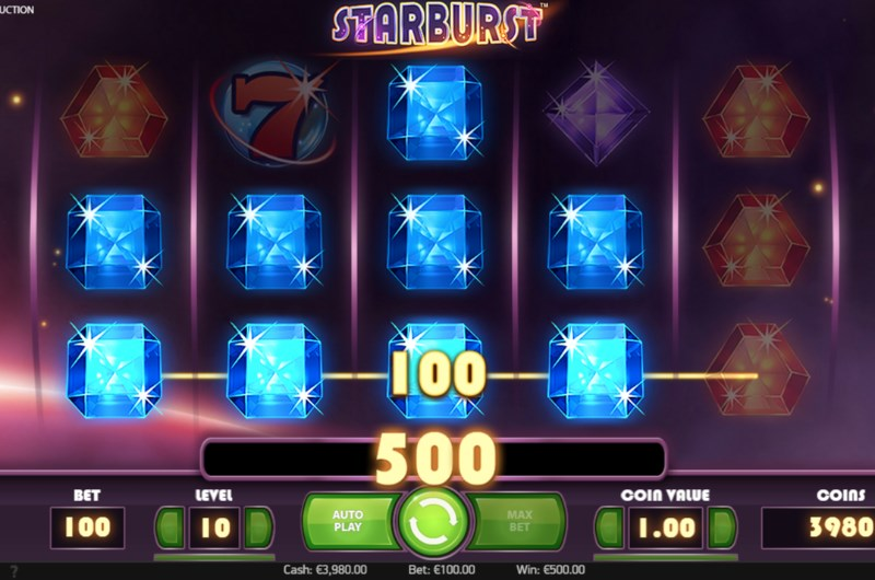 Starburst Slots Big Win