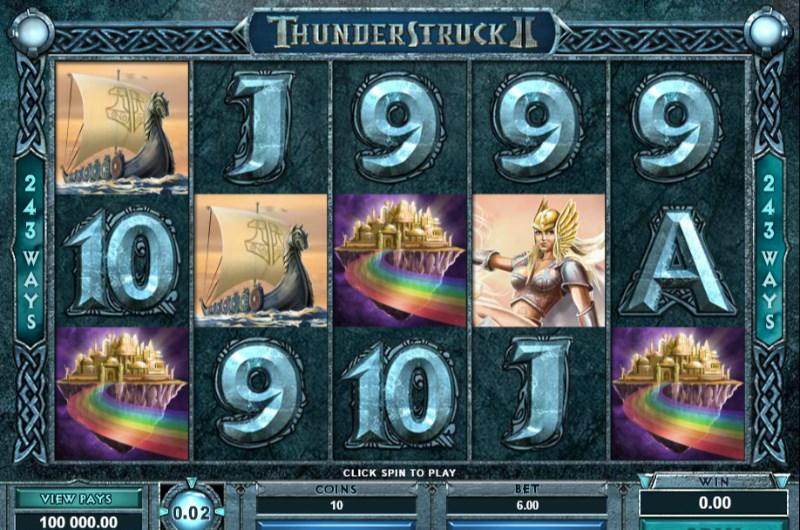 Thunderstruck 2 Slots Scatters