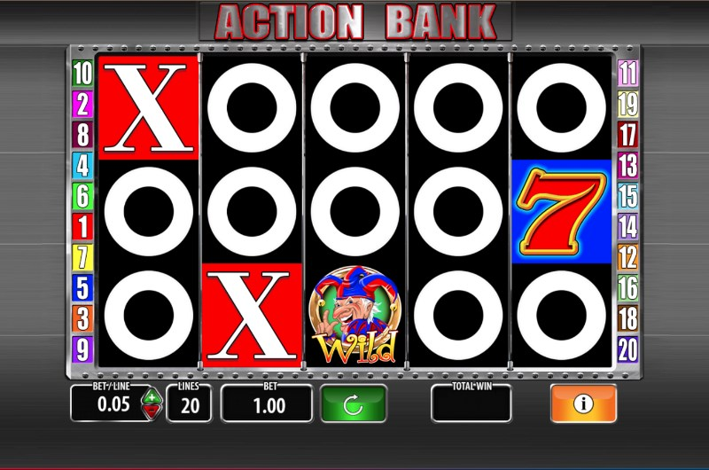 Action Bank Slots Game