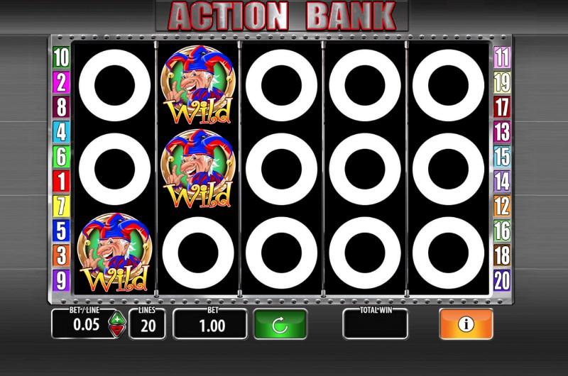Action Bank Slots Wild