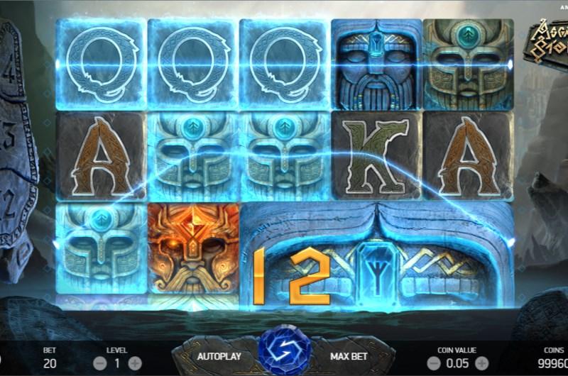 Asgardian Stones Slots Win