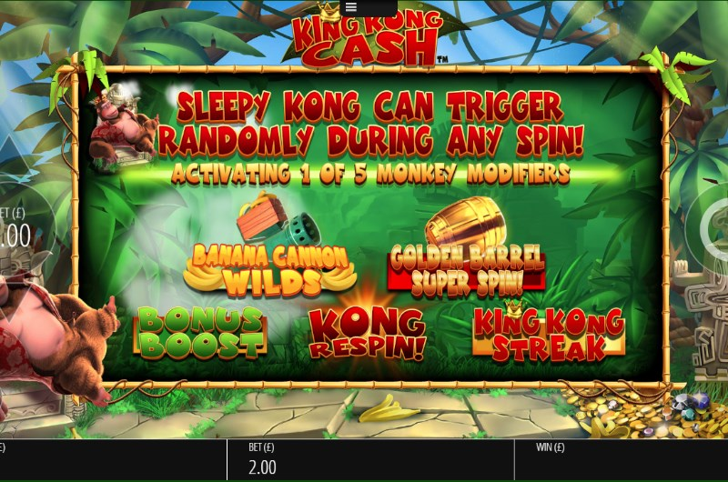 King Kong Cash Slots Bonus