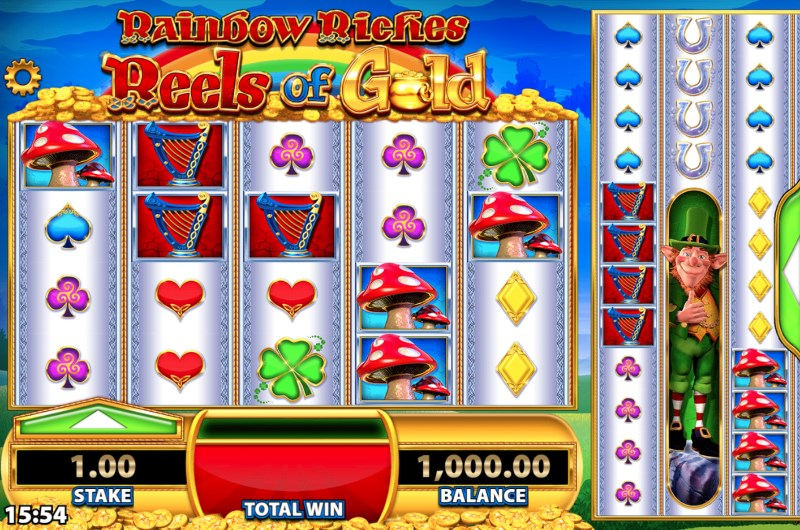 Rainbow Riches Reels of Gold Slots Game