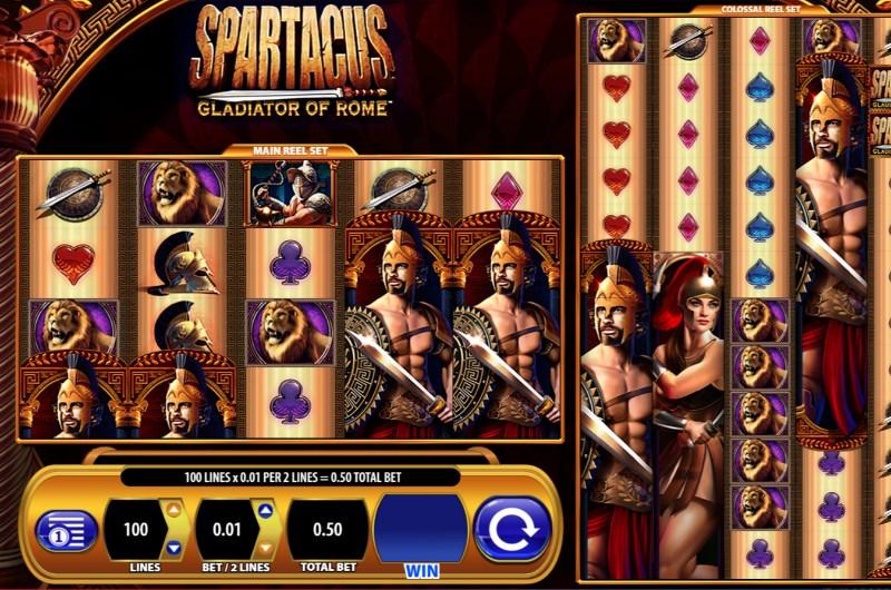 Spartacus Gladiator of Rome Slots